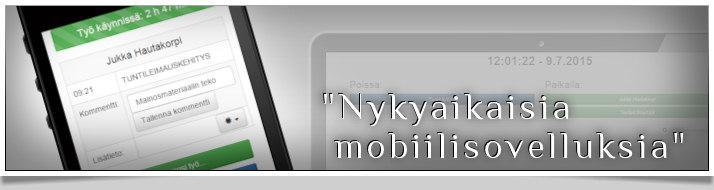 Mobiiliohjelmistot ja mobiilisivustot, html5