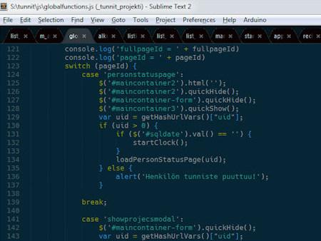 ohjelmointi,  koodaus,  sublime text,  git,  php