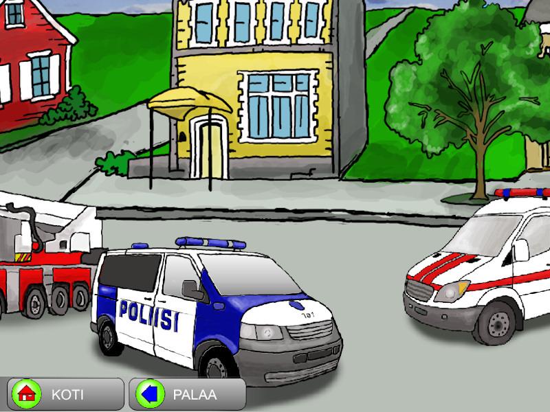 Hälytysautot ja muut ajoneuvot